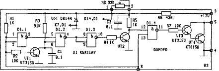 Схема октанкорректора