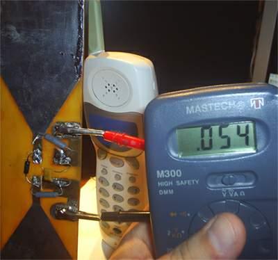 Дектектор электромагнитного